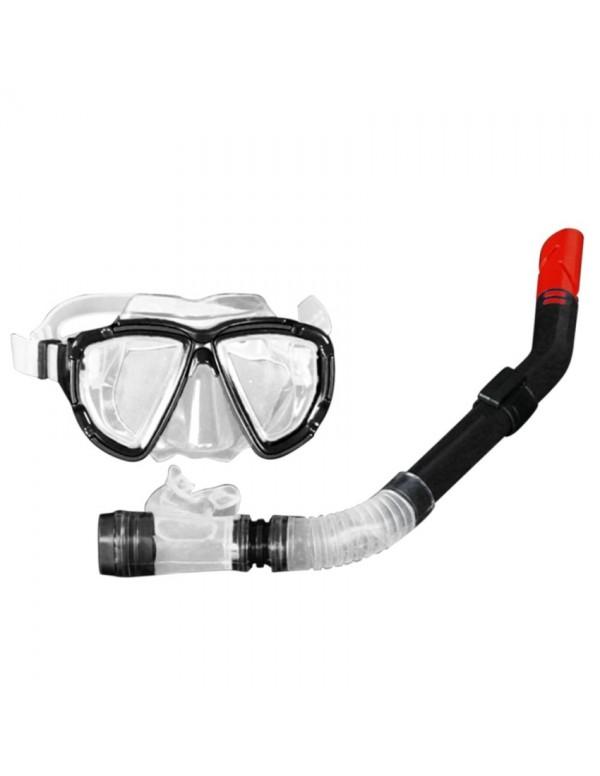 Adults Diving Equipment Set Snorkel Snorkeling Diving Mask Anti-fog